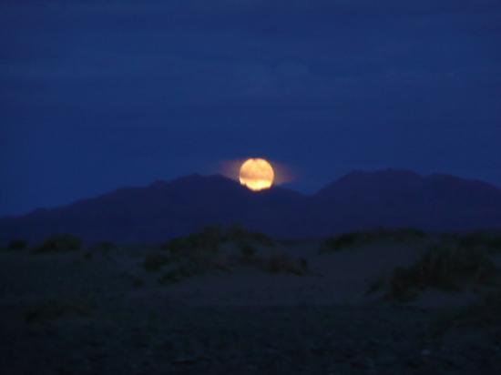 Altaï au clair de Lune