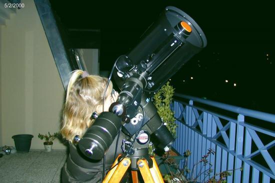Nathalie découvre Jupiter